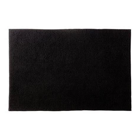 ikea black toftbo supersoft bath shower mat rug bathtub