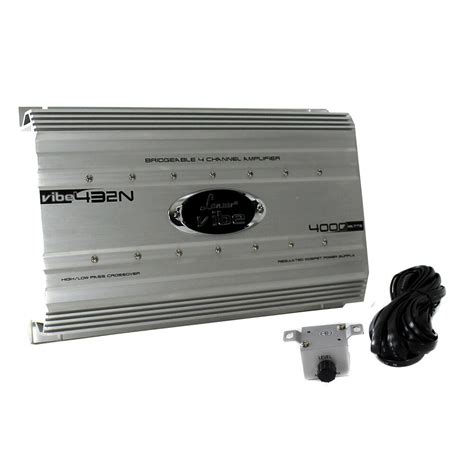 Lanzar Watt Channel Bridgeable Car Audio Full