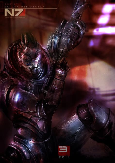 This Guy Makes The Best Mass Effect Fan Art Ever Overmental