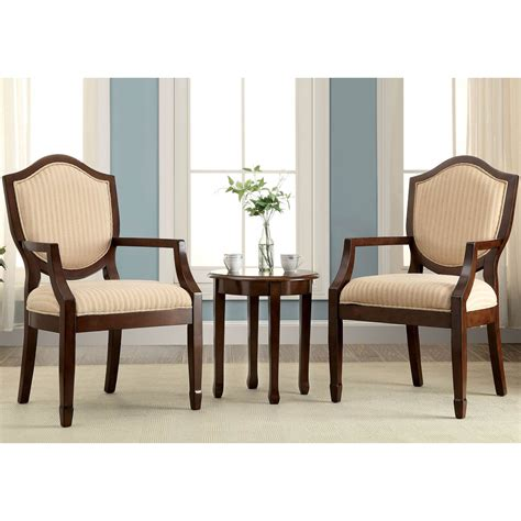 furniture of america cheswold ii accent table and chairs 3