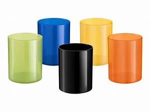 Pot A Crayon : elami pot crayons plastique diff rents coloris disponibles pots crayons ~ Teatrodelosmanantiales.com Idées de Décoration