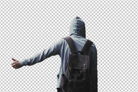langkah menghilangkan background putih  photoshop