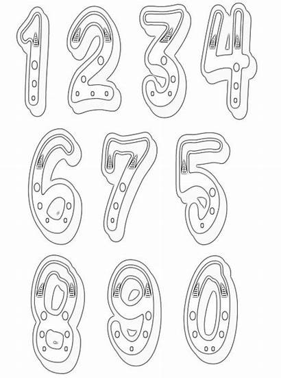 Numbers Clipart Number Clip Craft Line Clipartix