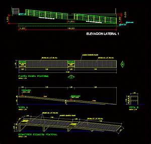 Pedestrian Ramp DWG Block for AutoCAD • Designs CAD