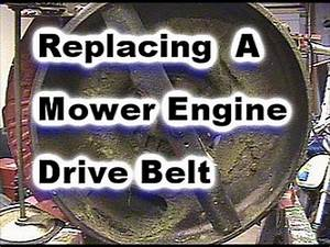 Lawn Mower Drive Belt Replacement On Snapper Mower  Model