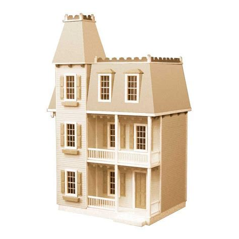 Alison Jr. Dollhouse Kit 94590   The Home Depot