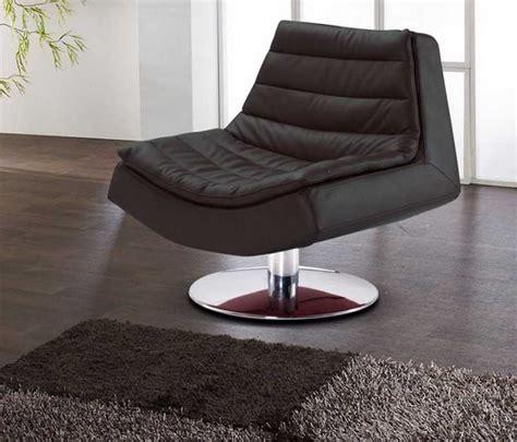 lounge sessel wohnzimmer lounge sessel schwarz g 252 nstig aus leder mit modern design