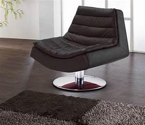 Design Sessel Leder : lounge sessel schwarz g nstig aus leder mit modern design aus lounge sessel leder ~ Indierocktalk.com Haus und Dekorationen