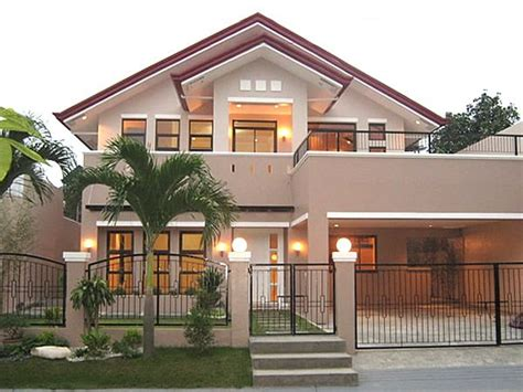 beautiful  storey house  philippines house design facade house bungalow house design