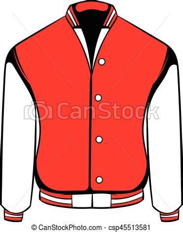 sport jacket icon icon cartoon sport  varsity red