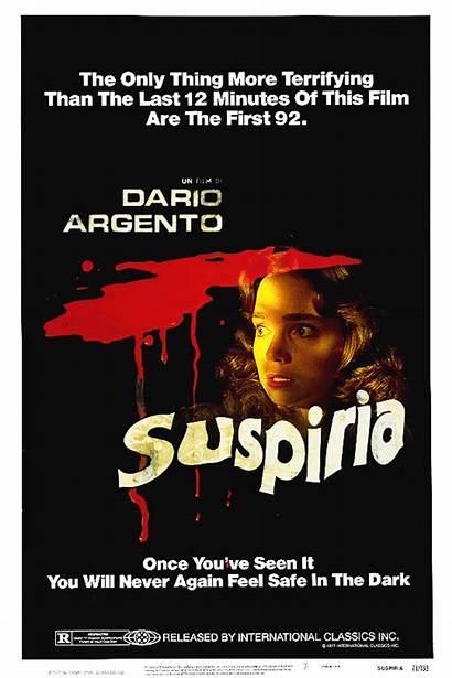 Poster Suspiria 1977 Horror Deviantart Gifs Movies