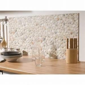 Adhesif salle de bain galet ciment achat vente for Carrelage adhesif salle de bain avec panneau led cdiscount