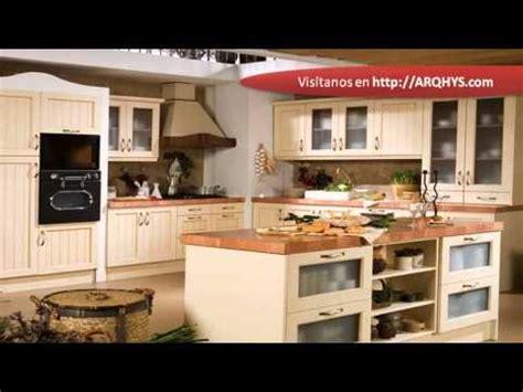 cocinas rusticas de madera youtube