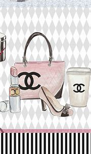 Pinterest: EnchantedInPink | Chanel art, Chanel wallpapers ...