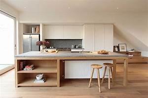 cuisine moderne avec ilot central With cuisine moderne avec ilot central