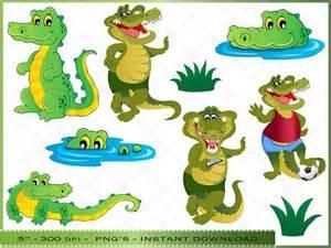 Crocodile Alligator Clip Art