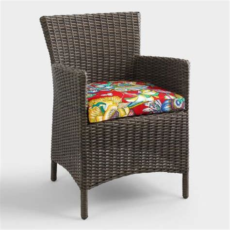 orchid gusset outdoor chair cushion world market