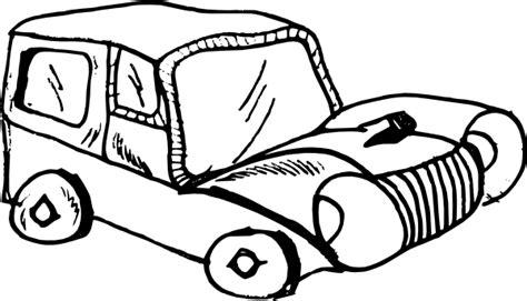 cartoon car black and white cartoon car clip art at clker com vector clip art online