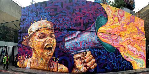 mural for street child summit on london s village
