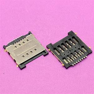 Yuxi 100  New Sim Card Reader Tray For Huawei G606 T00 G606t00   For Coolpad 7728 Sim Card Socket