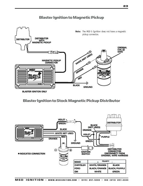 msd ignition al  wiring diagram  wiring diagram