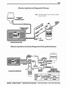 2wire Distributor Wiring Diagram Msd 6al Connected To