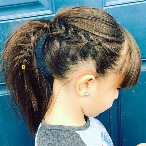 cute braided hairstyles   girls