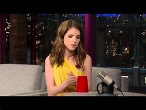 Cup Song Youtube : the cup song you 39 re gonna miss me by anna kendrick on david letterman youtube ~ Medecine-chirurgie-esthetiques.com Avis de Voitures