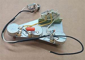 Premium Wiring Harness For Stratocaster Cts  Orange Drop 5