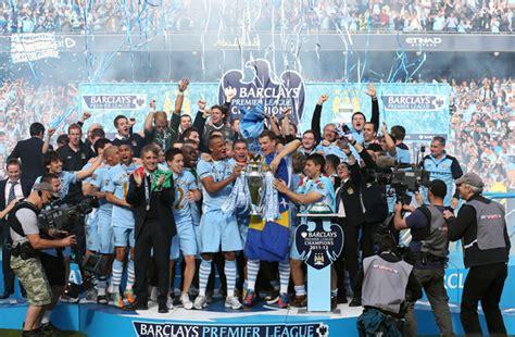 manchester city fc premier league champions manchester