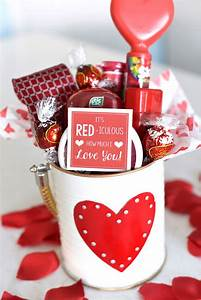 Cute Valentine's Day Gift Idea: RED-iculous Basket