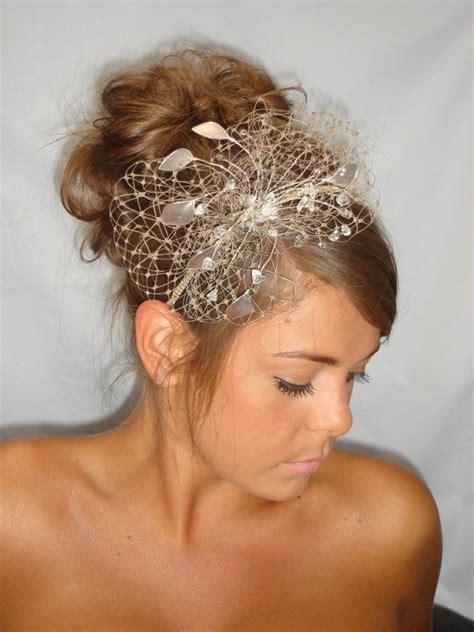 gold fascinator mother   bride summer wedding wedding hat beige fascinator antique