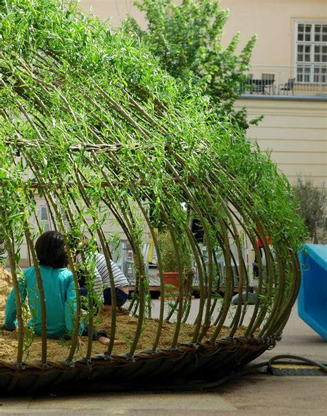 zywa architektura  ogrodzie przydomowym
