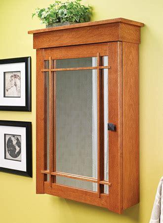medicine cabinets woodsmith plans