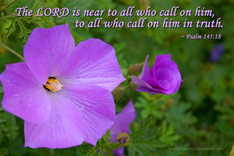 The Lord Is Near To All Who Call On Him