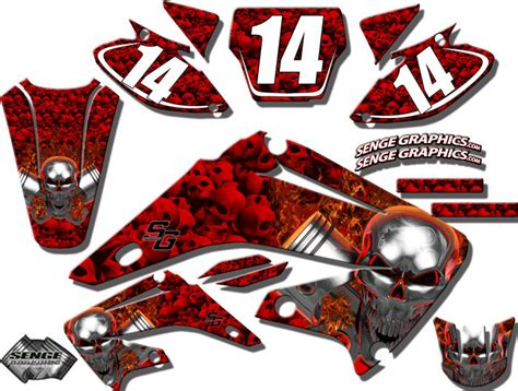 2010 2011 2012 2013 crf 250r graphics kit crf250r 250 r deco decals stickers ebay