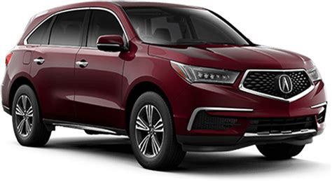 2018 Il Mdx Vs 2018 Il Rdx  Vehicle Comparisons