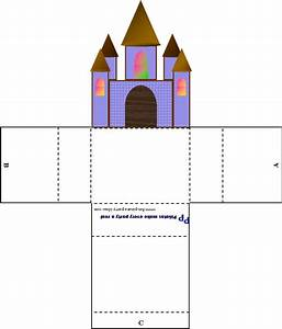 26 images of 3d castle template printable bosnablogcom for Cut out castle template