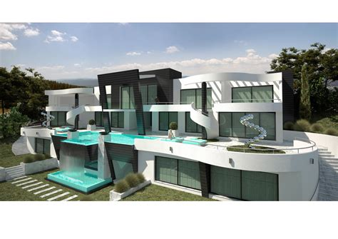 house plans 2 bedroom a modern villa project in marbella south spain
