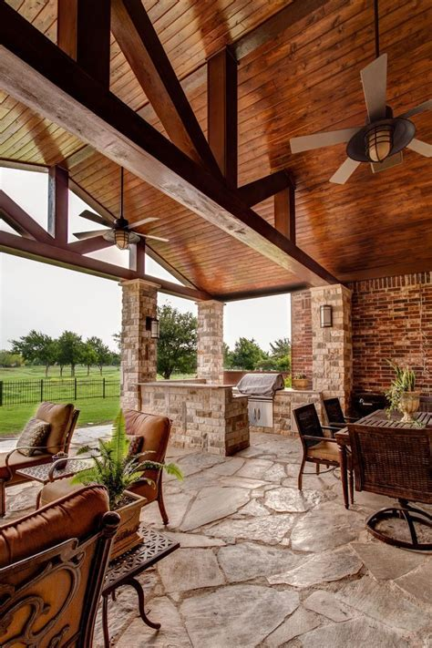 tongue in groove porch traditional with pine beams outdoor