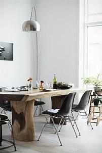 la meilleure table de salle a manger design en 42 photos With tapis peau de vache avec canapé panoramique roche bobois