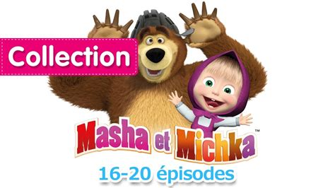 masha et michka collection 3 16 20 233 pisodes 30 minutes de dessins anim 233 s