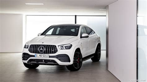 Even more dynamic, performance and passion: 2021 Mercedes-AMG GLE 53 Coupe 4MATIC+ (Color: Designo Diamond White Bright) - Front | HD ...