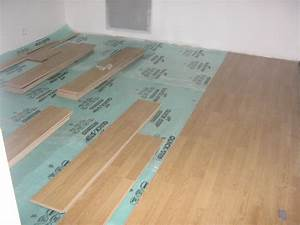 comment poser du parquet flottant With comment poser du parquet collé