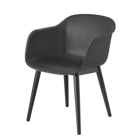muuto fiber wood base arm chair