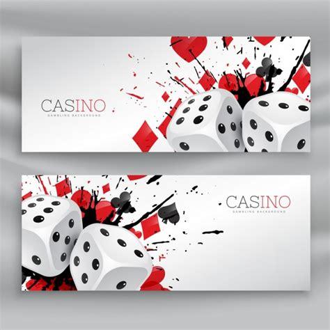 2 Casino Banners Vector