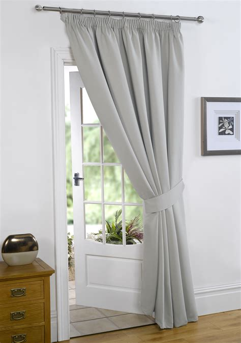 thermal blackout curtains dreamscene thermal pencil pleat pair of blackout curtains