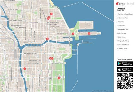 Printable Map Of Chicago | Printable Maps
