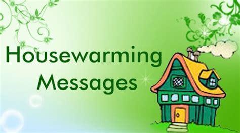 Housewarming Messages Sample, Congratulations Messages