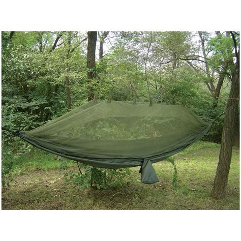 Jungle Hammock by Snugpak 174 Jungle Hammock With Mosquito Net Olive 302554